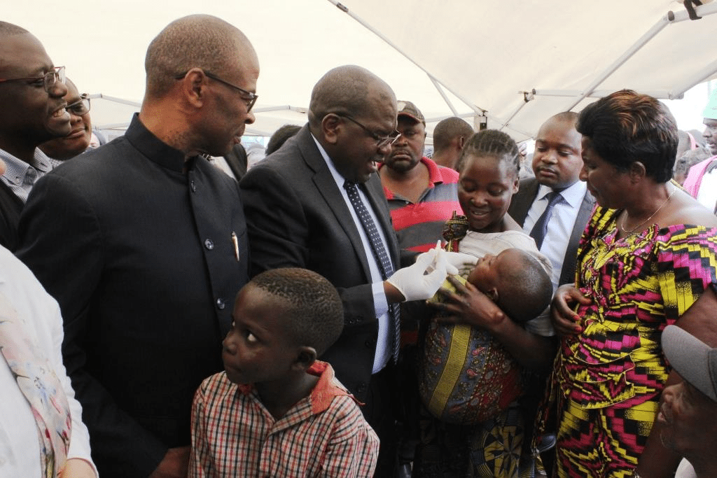 World Health Organization providing cholera vaccine in Africa